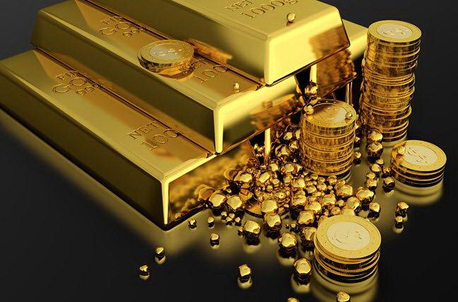 Золото после пятничного роста сегодня торгуется на понижение